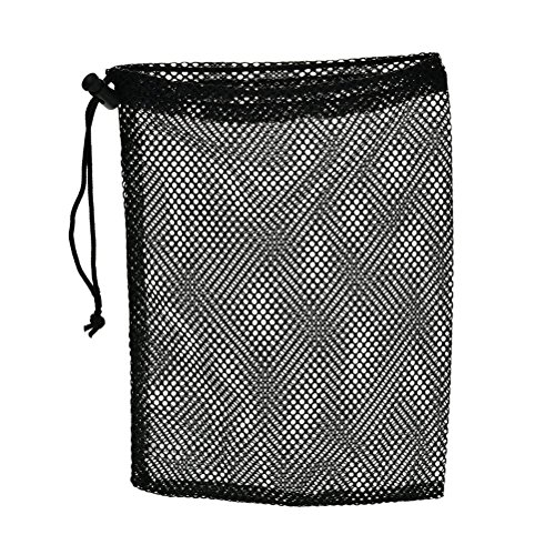 Mesh Golf Pouch (Happu-store(TM) Nylon Mesh Pouch 48 Golf Tennis Balls Carrying Holder Bag)