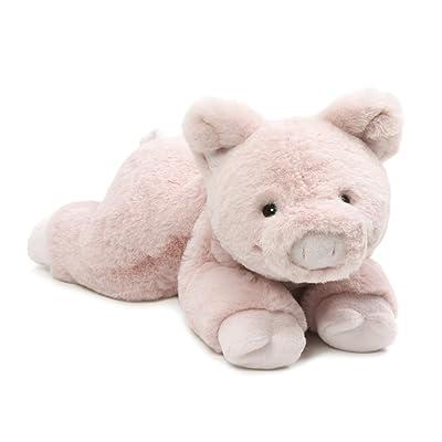 "GUND Hamlet Plush Stuffed Pig, 14"", Multicolor: Toys & Games"