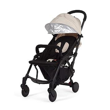 ROCKING BABY | carrito bebe | silla de paseo con funda para la lluvia y manillar extraible |beige