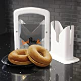 Sweet Home Bee Bagel Slicer, Stainless Steel