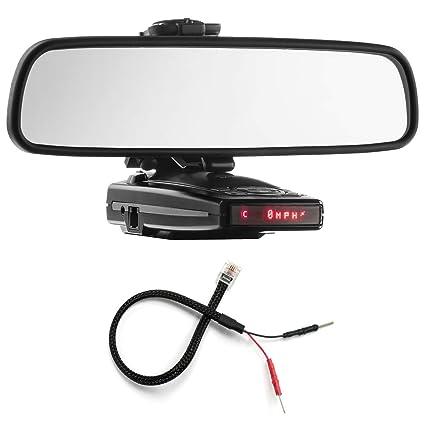PerformancePackage espejo pantalla plana soporte de Radar Detector + Espejo Cable de alambre - Escort 9500ix, Redline: Amazon.es: Electrónica