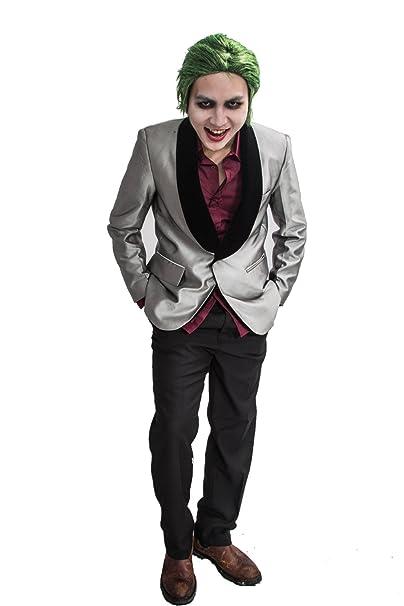 Amazon.com: Xcostume The Joker Costume 2016 Movie Suicide ...