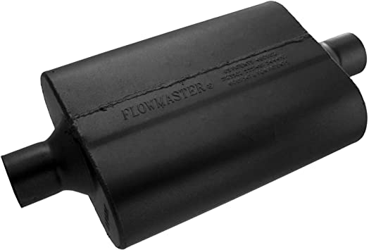 "Flowmaster Muffler 942445; Super 44 Series Aluminized 2.25/"" Center 2.25/"" Center"