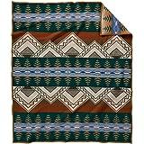 Pendleton American Treasures Twin Bed Blanket - Midnight