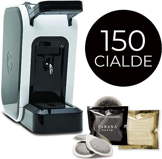 Máquina de café de monodosis Spinel Ciao + Box de 150 Cápsulas ...