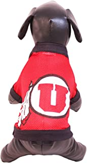 product image for NCAA Utah Runnin Utes Athletic Mesh Dog Jersey (Team Color, Large)