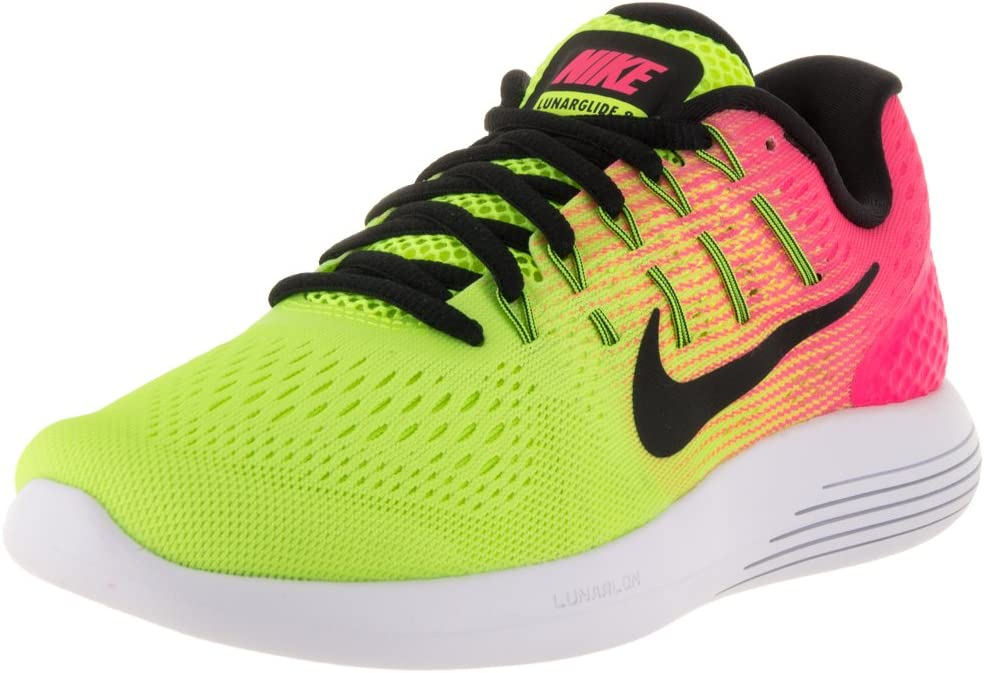 Nike Womens Lunarglide Black White – Anthracite