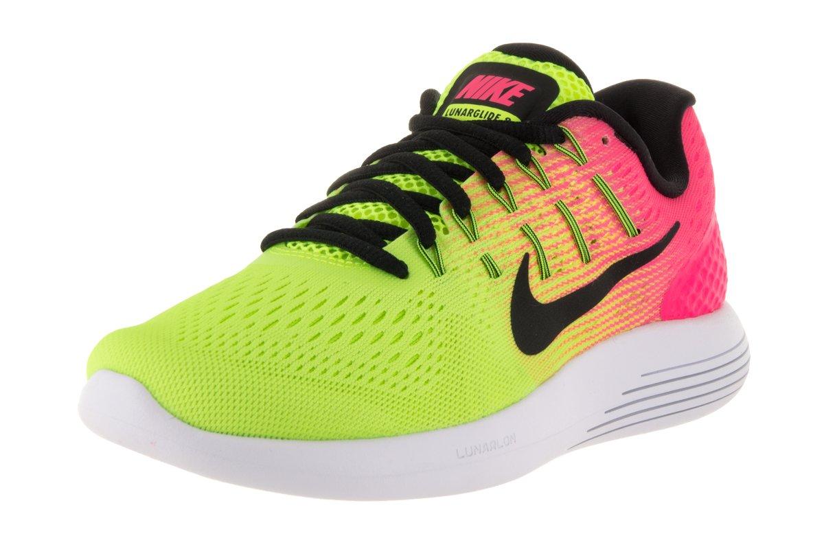 Nike Mens Lunarglide 8, Black / White - Anthracite B019DVS98Q 7 B(M) US|Multi-color