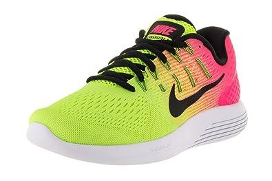 online store 2984d 45644 Nike WMNS Lunarglide 8 Oc, Chaussures de Running Femme, Noir/Multicolore, 40