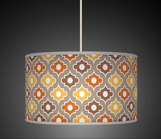 600 Pantalla para lámpara de techo o suelo, papel pintado ...