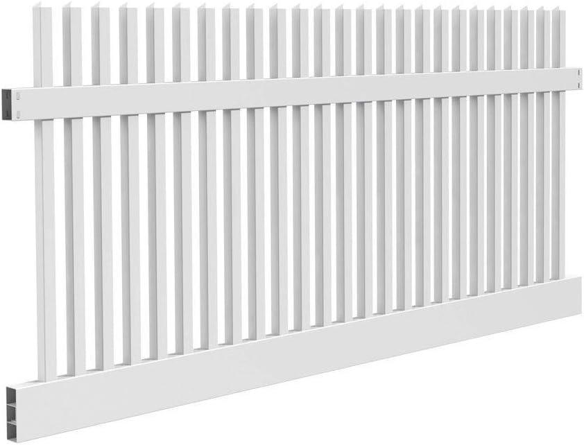 China Anti Uv White Cheap Pvc Vinyl Fence Privacy Garden Fence Panels China White Vinyl Fence Privacy Garden Fence Fence Panels
