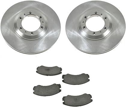 Rotors Ceramic Pads F+R 1997 1998 1999 2000 2001 Isuzu Trooper OE Replacement