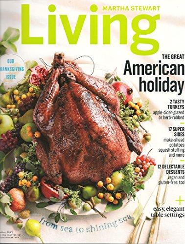 Martha Stewart Living magazine - November 2015 -
