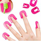Amazon Price History for:UNKE 26x Nail Art Polish Protection Reusable Nails Edge Skin Barrier Tip Protector Application