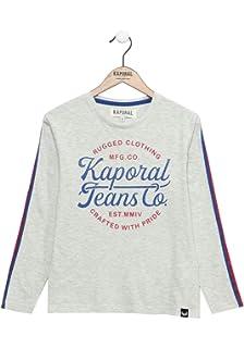 Kaporal T Shirt à Manches Courtes imprimé Multicolore