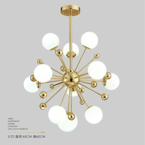 Sputnik Firework Chandelier Lighting 11 Lights Moderno ...