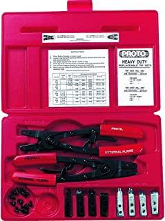 product image for Stanley Proto J361 18-Piece Large Pliers Set with Replaceable Tips