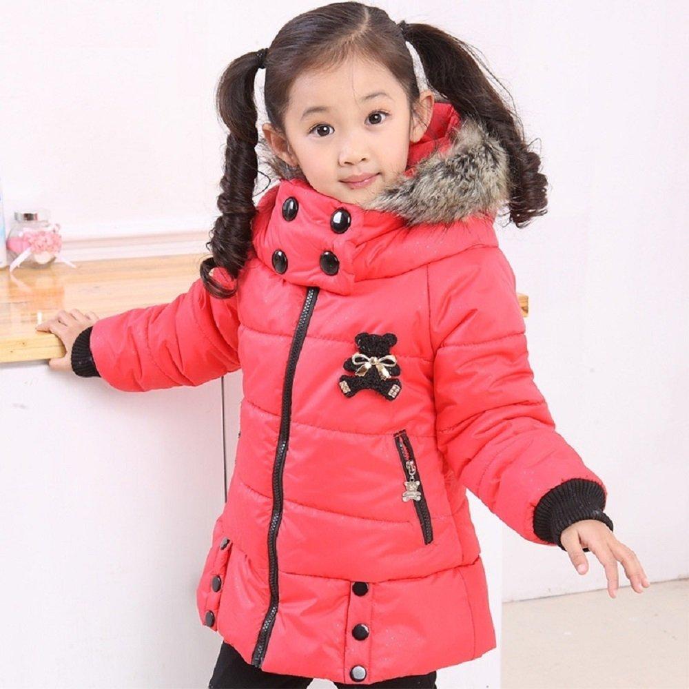 0db5f64cb0b9 Amazon.com  Winter winter coat Kids Girls 2017 new large Tong long ...