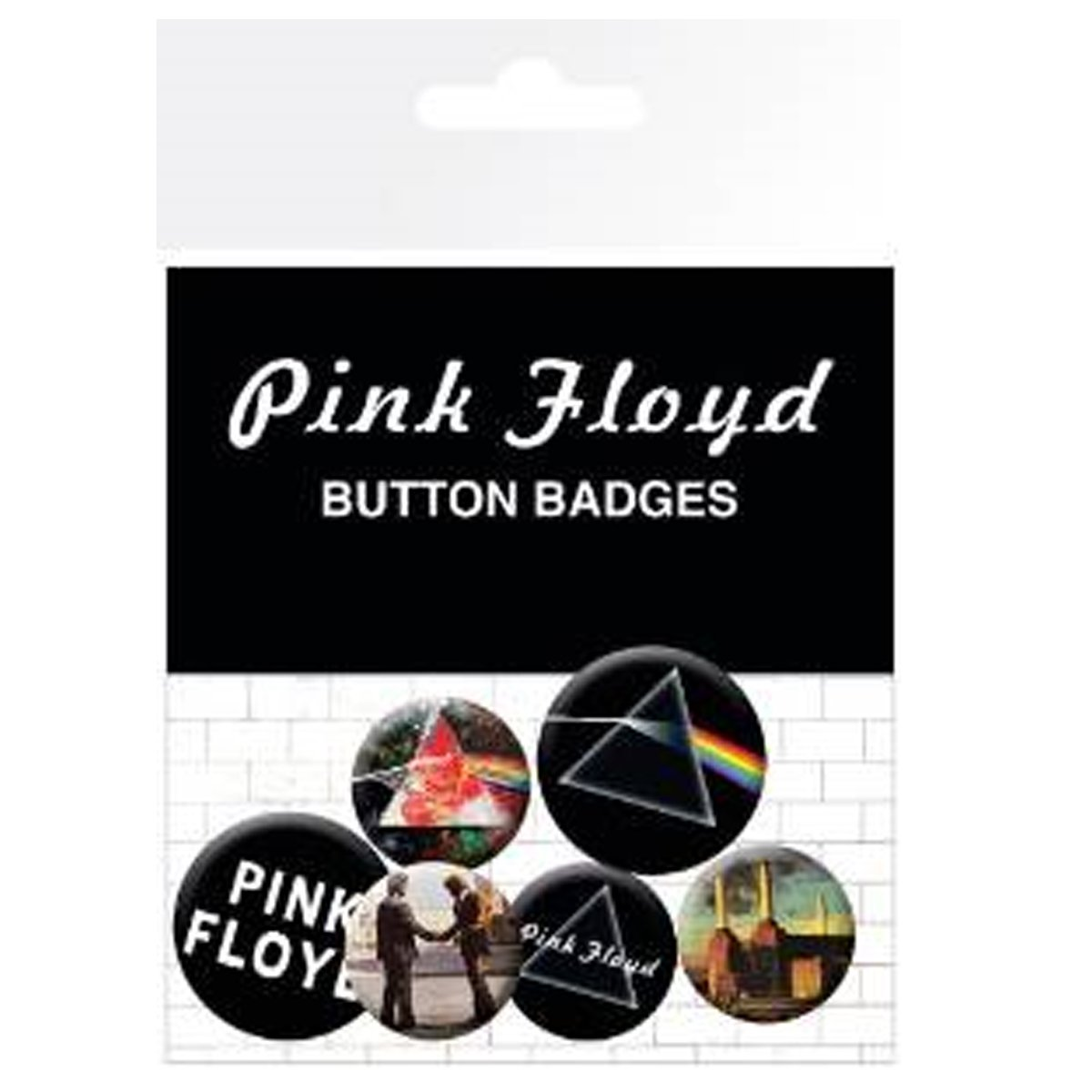 GB eye LTD, Pink floyd button badges BP0457