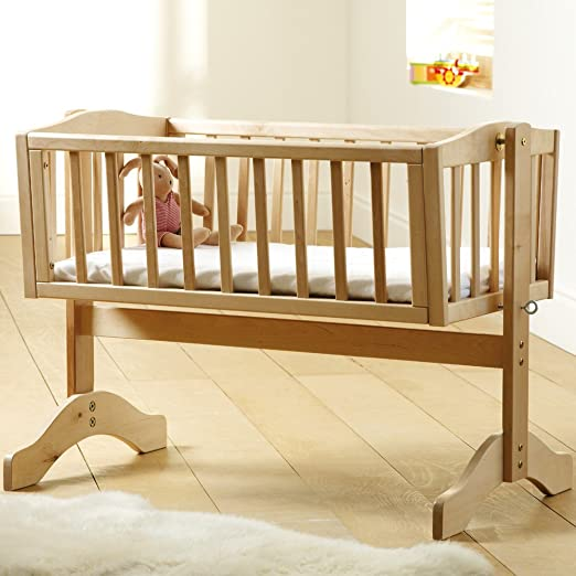 Saplings Bethany Swinging Crib (Off-White)