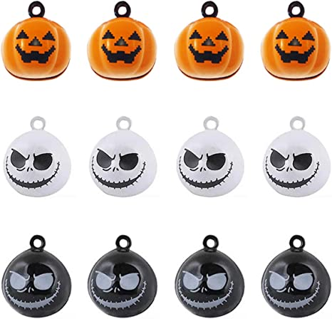 20Pcs Ghost Wholesale Halloween Charms Free Shipping Jewelry Crafts Findings