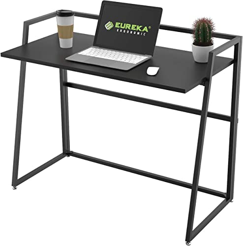 EUREKA ERGONOMIC Modern Folding Computer Desk Teen Student Dorm Study Desks 41-inch Fold up Desk
