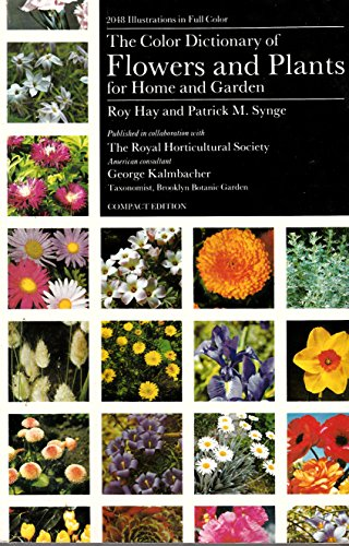 Color Dictionary of Flowers and Plants for Home and - Flower Plant Colour