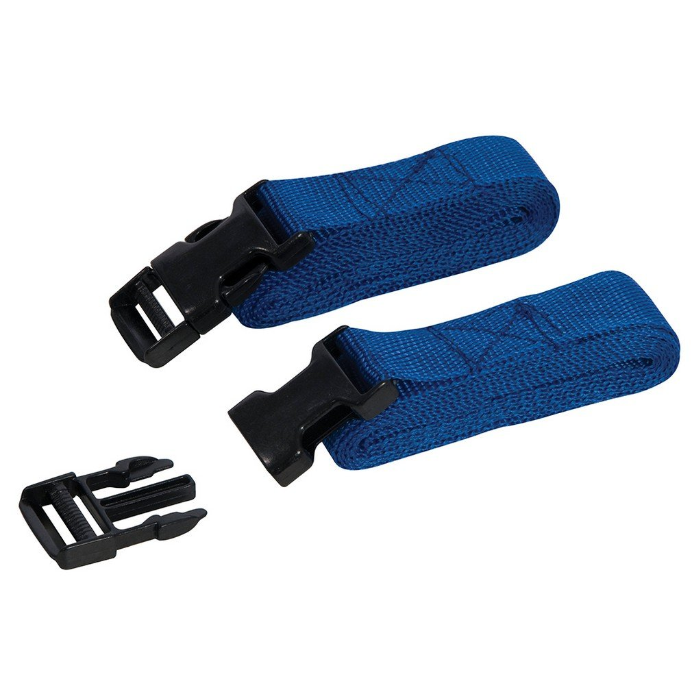 Silverline 443721 Clip Buckle Tie-Down Luggage Straps 2m x 25mm Pack of 2