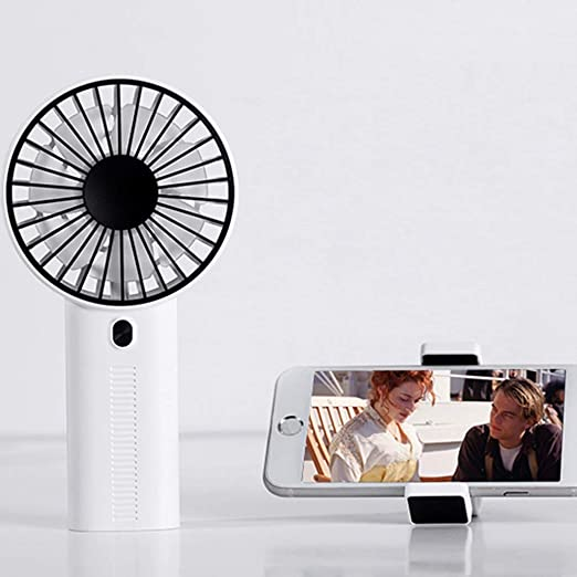 WANG LIQING Clip para teléfono Celular Ventilador de Carga USB ...