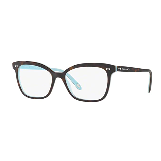 Tiffany Tf2155 8134 Cal.54 Occhiale Da Vista Havana Eyeglasses Sehbrille Donna mySHe