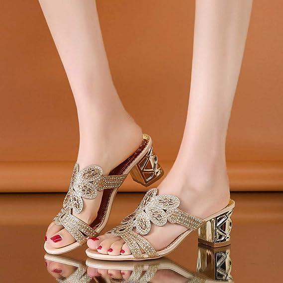 Amazon.com: Sunhusing - Zapatillas para mujer con diseño de ...