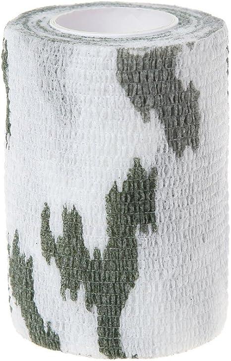 Nastro Adesivo Mimetico in Tessuto Non Tessuto Lunji 7,5 cm /× 4,5 m