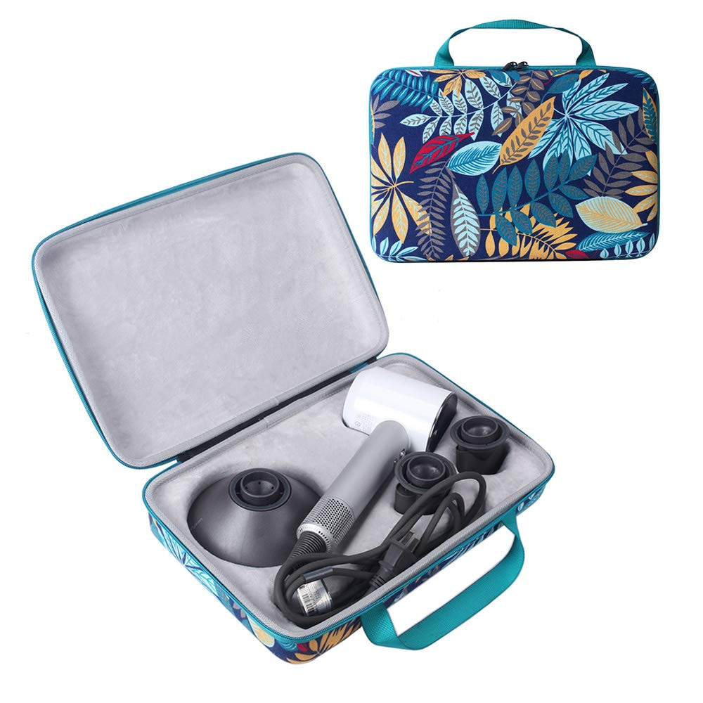 Bimoon Colorful Hard Traveling Case for Dyson Supersonic Hair Dryer