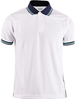 763d9ee0f BCPOLO Men's Trendy Casual Basic Polo T-Shirt Short Sleeves White Shirt  Daily wear