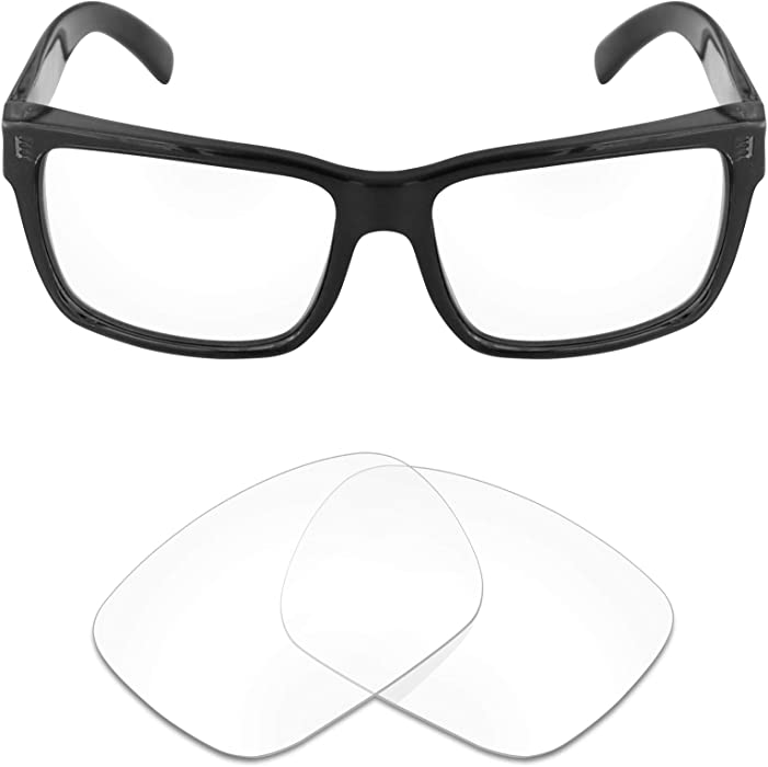 e57eaef6c7c Amazon.com  Mryok UV400 Replacement Lenses for Von Zipper Elmore - HD Clear   Clothing