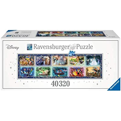 Ravensburger Memorable Disney Moments 40,320 Piece Jigsaw Puzzle - The Largest Disney Puzzle in the World: Toys & Games [5Bkhe0506833]