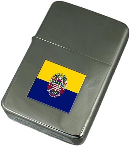 Engraved Lighter Slovakia Flag