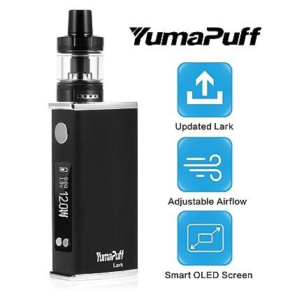 Cigarrillo Electrónico, YumaPuff 80W Lark Starter Kit, Construido en 2600mAh Batería, Pantalla OLED