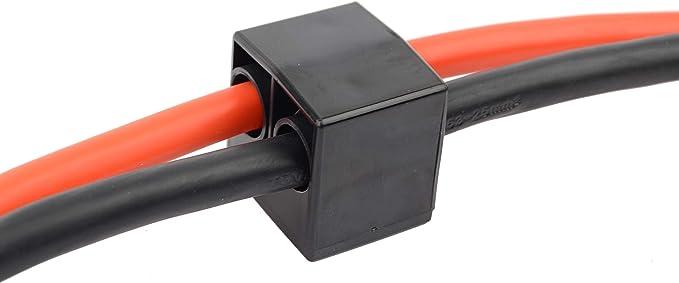 in Rundtasche Br/üder Mannesmann Werkzeuge M01788 Starthilfekabel 25mm