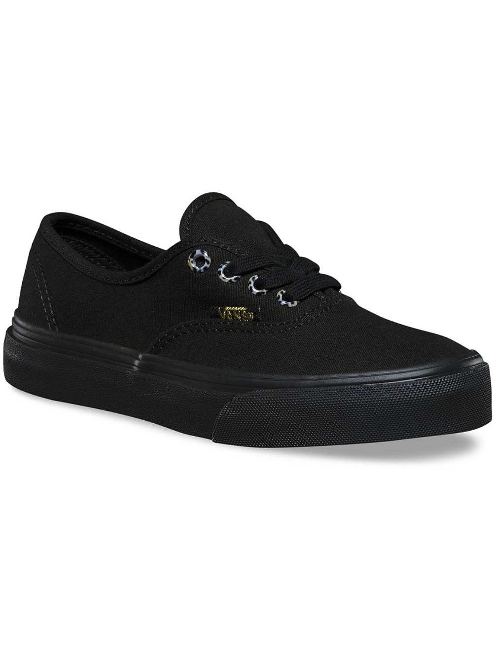 Vans Authentic (Canvas) Sneakers for Unisex Kids in Classic Colors, Stylish Prints and Fashionable Designs B018UUB9TW 11.5 Y US Cheetah/Black