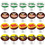 junior mints keurig - 20-Count Original Variety K-Cups For Keurig 2.0 Compatible Hot Cocoa From Tootsie Roll, Junior Mints, Sugar Babies and Charleston Chew Vanilla