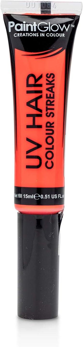 PINTGLOWTM - Tinte de pelo reactivo con luz UV neón, color ...