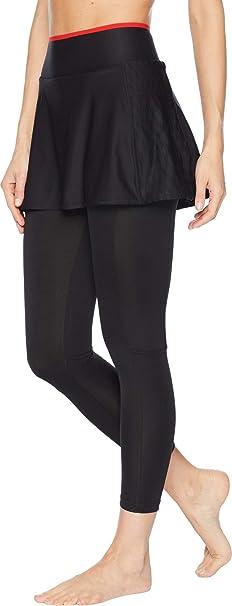 perdonado Dramaturgo Roux  adidas Women's Barricade Skirt Leggings Black Large 24 24: Amazon.co.uk:  Clothing