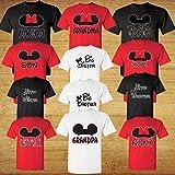 Family Disney Matching Shirts - Mickey Head Family Vacation T-Shirts