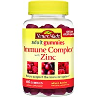 Nature Made Immune Complex with Zinc Adult Gummies w. Vitamins