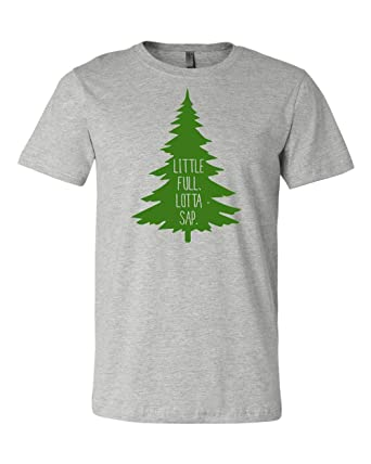 498392df1 LivingTees Little Full, Lotta Sap Christmas Vacation Shirt for The Family  at Amazon Women's Clothing store: