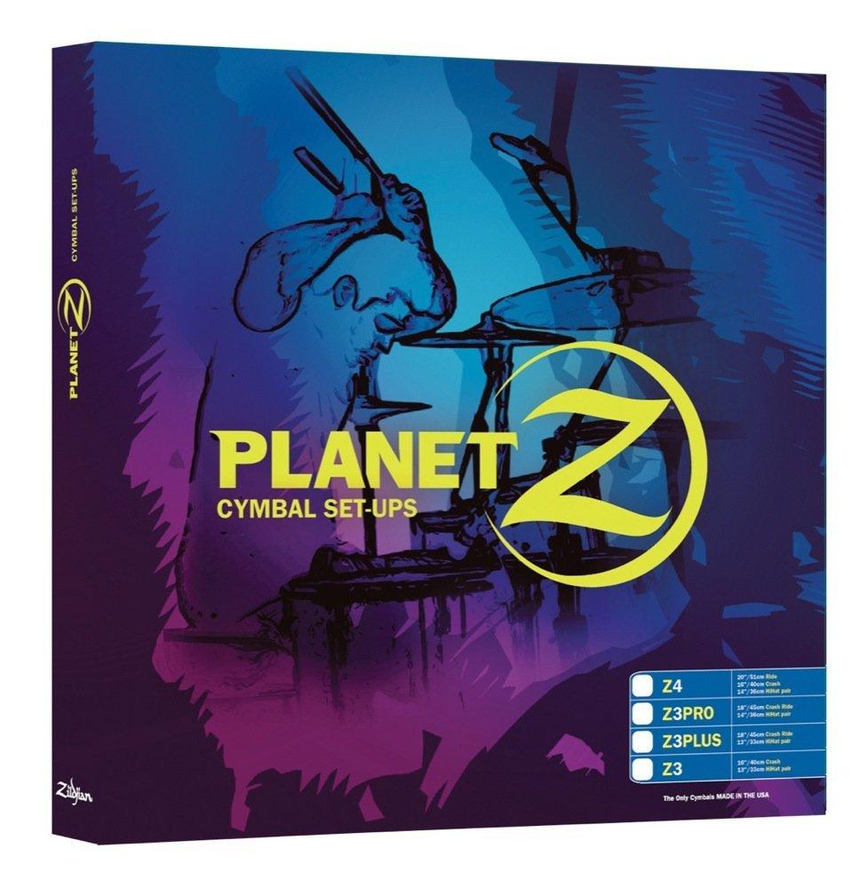 Zildjian Planet Z PZ4PK Becken-Set 127034