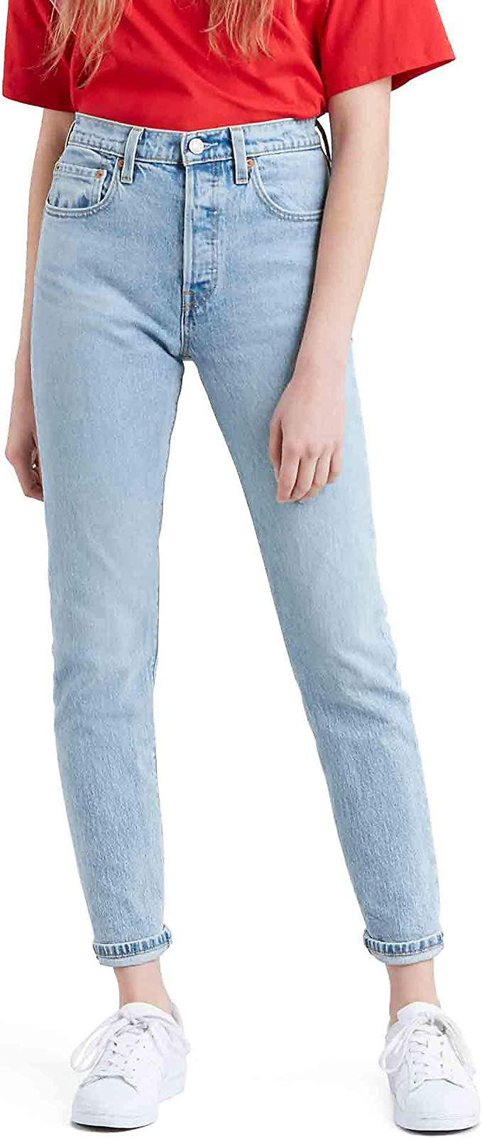 Levi's 501 Jean skinny pour femme: Amazon.