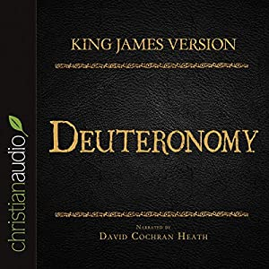 Holy Bible in Audio - King James Version: Deuteronomy Audiobook