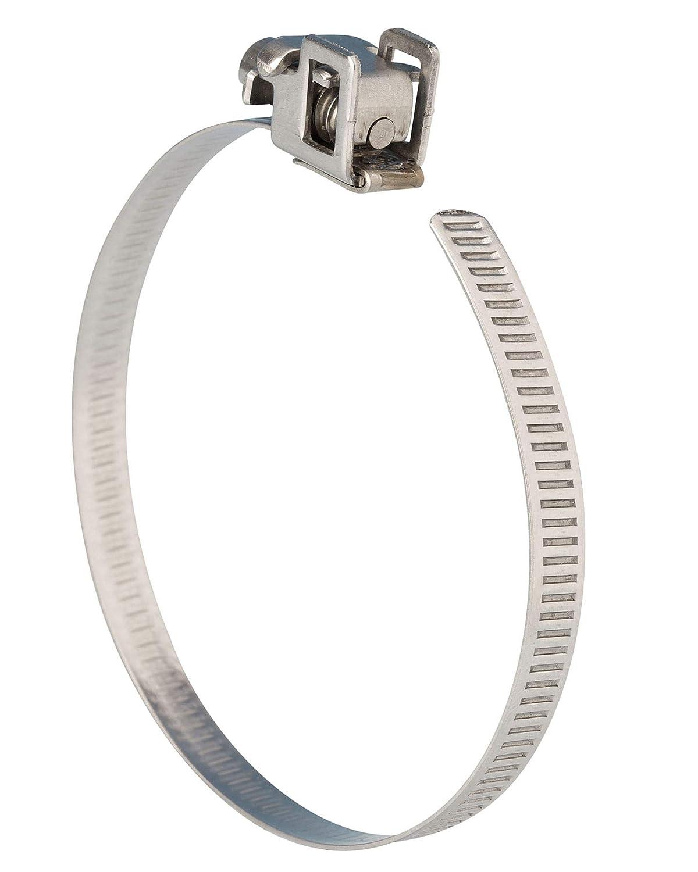 Jubilee Quick Release FlipLock Strap SS 35-50mm